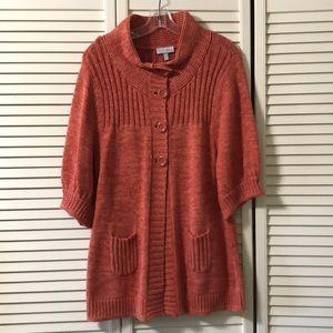 Cute Fashion Bug Sweater 3/4L Sleeves SZ LG